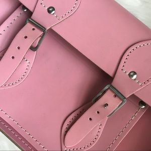 💖 Beautiful Cambridge Satchel Bag in Baby Pink 💖